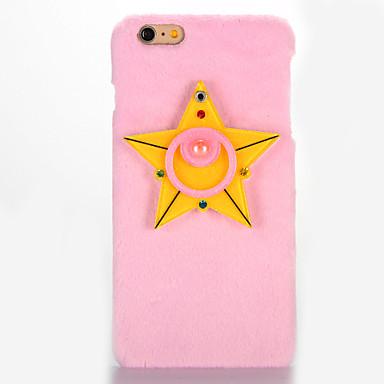 Varten Peili DIY Etui Takakuori Etui 3D piirros Kova Tekstiili varten AppleiPhone 7 Plus iPhone 7 iPhone 6s Plus iPhone 6 Plus iPhone 6s