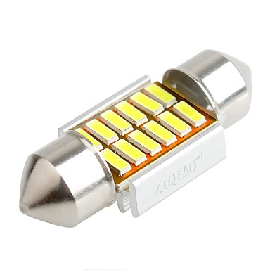 ziqiao 31mm 12 SMD johti 4014 CAN auto köynnös sisätila hehkulamput (12v / 2kpl)