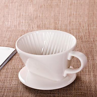 ml Κεραμικό Φίλτρο καφέ , 2 φλιτζάνια Drip Καφές Κατασκευαστής Επαναχρησιμοποιήσιμο
