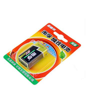 Nanfu 9v alkalin pil / uzaktan kumandalı oyuncaklar / duman alarmı / kablosuz mikrofon / multimetre / uzaktan kumanda / mikrofon pil 1