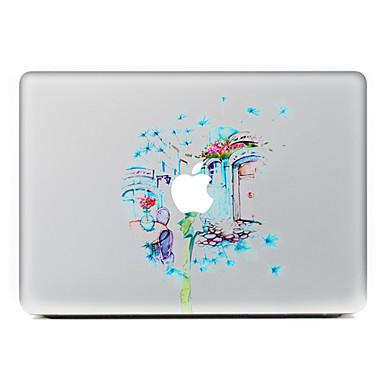1 قطعة مقاومة الحك زهور بلاستيك شفاف لاصق الجسم نموذج إلىMacBook Pro 15'' with Retina MacBook Pro 15'' MacBook Pro 13'' with Retina