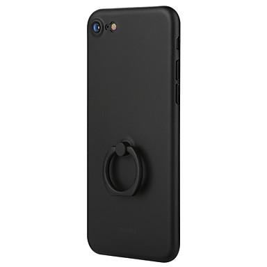 Недорогие Кейсы для iPhone-Кейс для Назначение Apple iPhone 7 Plus / iPhone 7 / iPhone 6s Plus Кольца-держатели / Ультратонкий / Матовое Кейс на заднюю панель Однотонный Твердый ПК