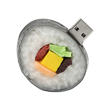 sushi 128GB USB2.0 cauciuc unitate flash disc