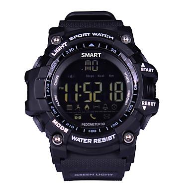 Herrn Sportuhr Militäruhr Kleideruhr Smart Watch Modeuhr Armbanduhr Einzigartige kreative Uhr Digitaluhr Quartz digital Kalender