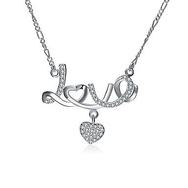 Γυναικεία Καρδιά Εξατομικευόμενο Μοναδικό Κρεμαστό Βίντατζ Μποέμ Βασικό Love Καρδιά Φιλία Λατρευτός Χιπ-Χοπ Rock χαριτωμένο στυλ