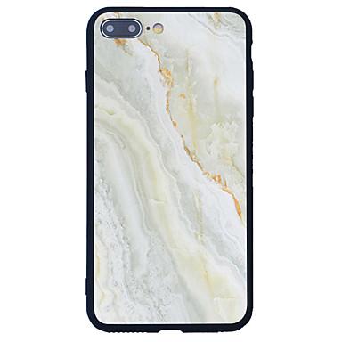 غطاء من أجل Apple نموذج غطاء خلفي حجر كريم قاسي أكريليك(Acrylic) إلى iPhone 7 Plus iPhone 7 iPhone 6s Plus iPhone 6 Plus iPhone 6s iPhone