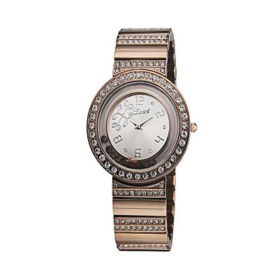 Damskie Modny Sztuczny Diamant Zegarek Kwarcowy Stop Pasmo Na co dzień Różowy