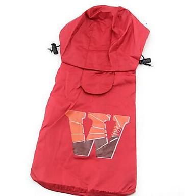 Câine Haină de ploaie Îmbrăcăminte Câini Casul/Zilnic Sport Englezesc Maro Rosu Roz Costume Pentru animale de companie