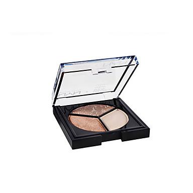 3pcs Sombra para Olhos Pó Maquiagem de Fada / Maquiagem para o Dia A Dia Diário Acessórios para Maquiagem