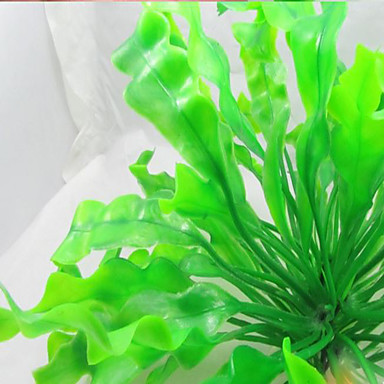 ديكور حوض السمك النباتات غير سام و بدون طعم بلاستيك