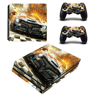 B-SKIN PS4 pro لاصق - PS4 الدعامة حداثة #