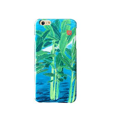 Pouzdro Uyumluluk Apple Buzlu Süslü Temalı Arka Kılıf ağaç Sert PC için iPhone 7 Plus iPhone 7 iPhone 6s Plus iPhone 6 Plus iPhone 6s
