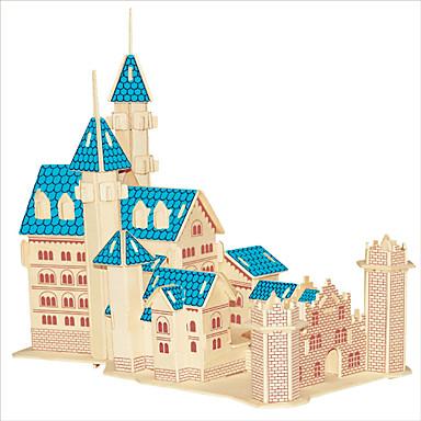 Puzzle Lemn Castel / Clădire celebru / Arhitectura Chineză nivel profesional De lemn 1pcs Fete Cadou