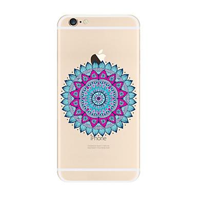 Kılıf Na Apple iPhone X iPhone 8 Plus Przezroczyste Wzór Etui na tył Mandala Miękkie TPU na iPhone X iPhone 8 Plus iPhone 8 iPhone 7 Plus