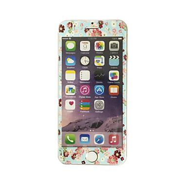 pentru Apple iPhone 7 sticlă călită 4.7 inch, cu margine moale acoperire întregul ecran flori de ecran protector față de model