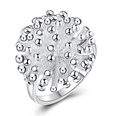 Inel Argintiu Articole de ceramică Argilă Zilnic Casual Costum de bijuterii