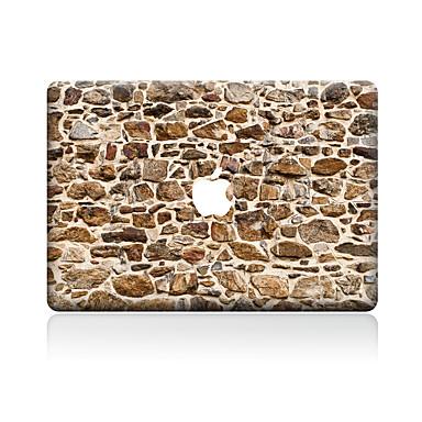 1 piesă Rezistent la Zgârieturi Geometric Plastic Transparent Autocolant Corp Model PentruMacBook Pro 15'' with Retina MacBook Pro 15 ''