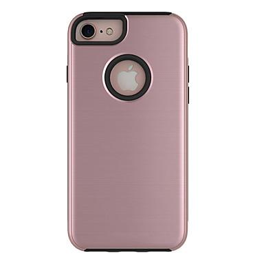 Για Προστασία από τη σκόνη tok Πίσω Κάλυμμα tok Μονόχρωμη Σκληρή PC για AppleiPhone 7 Plus iPhone 7 iPhone 6s Plus/6 Plus iPhone 6s/6