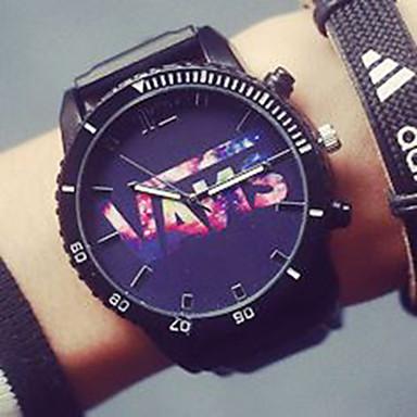 זול שעוני גברים-בגדי ריקוד גברים שעוני אופנה קווארץ עור שחור 30 m אנלוגי יום יומי - שחור
