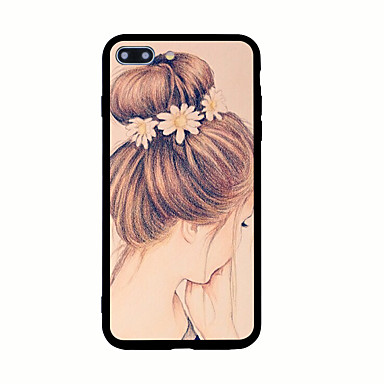 Kılıf Na Apple Wzór Etui na tył Seksowna dziewczyna Twarde Akrylowy na iPhone 7 Plus iPhone 7 iPhone 6s Plus iPhone 6 Plus iPhone 6s