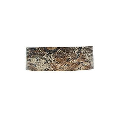 Γυναικεία Κολιέ Τσόκερ Κολιέ Δήλωση Circle Shape Round Shape Φίδι Δερμάτινο Εξατομικευόμενο Ευρωπαϊκό Μοντέρνα Euramerican Κοσμήματα με