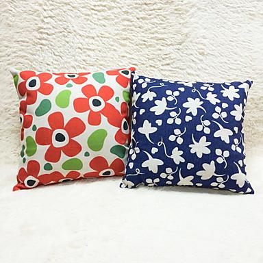 1 szt Cotton / Linen Poszewka na poduszkę,Wzory graficzne Modern / Contemporary Kraj Przypadkowy Akcent / Decorative Na wolnym powietrzu