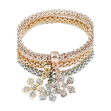 Bransoletki Bransoletki i łańcuszki na rękę Stop Pozłacane Others Postarzane Impreza Biżuteria Prezent Złoty,1set