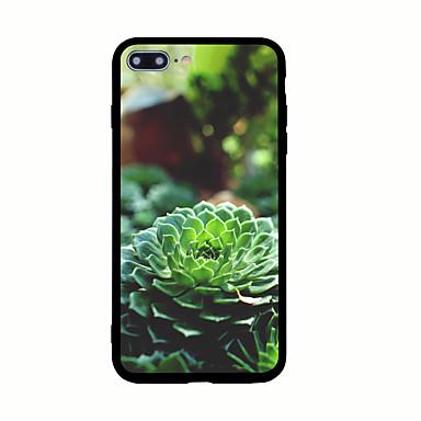 Για Με σχέδια tok Πίσω Κάλυμμα tok Λουλούδι Σκληρή Ακρυλικό για AppleiPhone 7 Plus iPhone 7 iPhone 6s Plus iPhone 6 Plus iPhone 6s iPhone