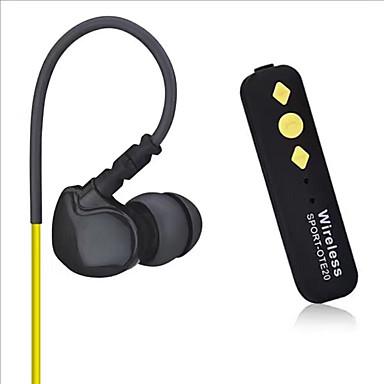 الرياضات ote20 بلوتوث اللاسلكية سماعات الأذن الرياضة سماعة الأذنية deportivos لدائرة الرقابة الداخلية فون سماعة سماعات يدوي