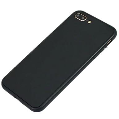 coque pour apple iphone 8 iphone 8 plus ultrafine coque int grale couleur pleine flexible. Black Bedroom Furniture Sets. Home Design Ideas