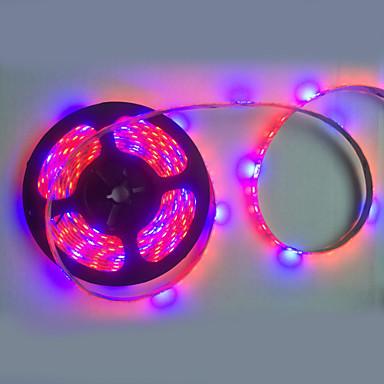 1pcs 5m 300x5050smd 72W κόκκινο μπλε LED φώτα της ανάπτυξης των φυτών