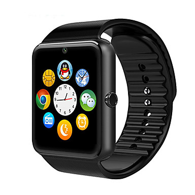 Inteligentny zegarek iOS Android GPS Ekran dotykowy Krokomierze Zdrowie Kamera/aparat Budzik Odbieranie bez użycia rąk Znajdź moje