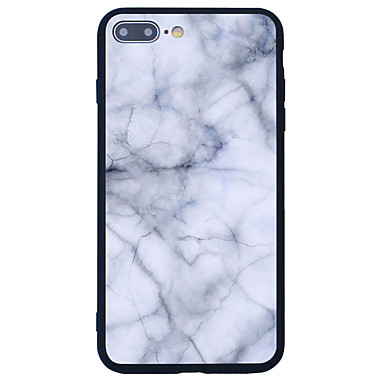 غطاء من أجل Apple نموذج غطاء خلفي حجر كريم قاسي أكريليك(Acrylic) إلى iPhone 7 Plus iPhone 7 iPhone 6s Plus iPhone 6 Plus iPhone 6s iPhone