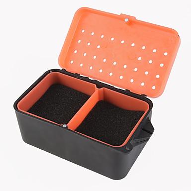 مربع دودة حمراء مربع ديدان متعددة - وظيفية مع مربع الإسفنج ديدان الصيد بارد مربع الطعم الحي
