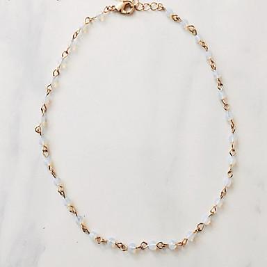 Damskie Naszyjniki z wisiorkami Syntetyczny Opal Stop euroamerykańskiej Modny Ręcznie Wykonane Biżuteria Na Urodziny Codzienny