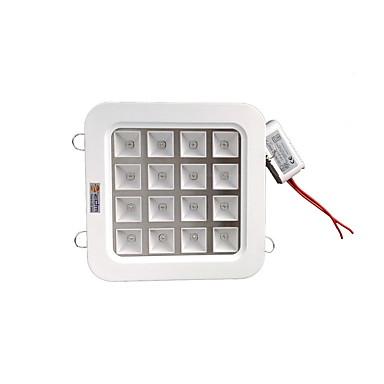 ZDM 16w 높은 전원 LED (12red 4blue)이 전체 파장 식물 성장 램프 천장 조명을 주도 (AC85-265V)