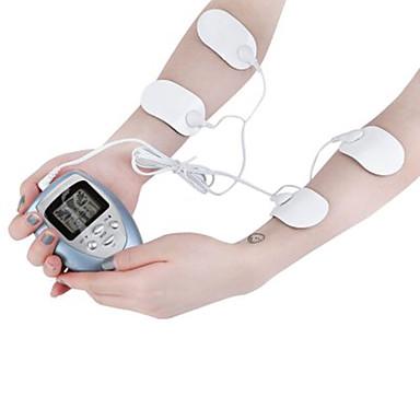 billige Sundhed & Skønhed-4 puder fuld krop massager slankende elektrisk slank puls muskel slappe fedtforbrænder