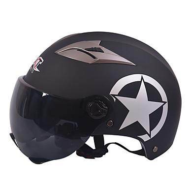 GXT M11 motocicleta jumătate casca cu dublă lentile de protecție solară harley cască unisex de vară potrivite pentru 55-61cm cu lentile
