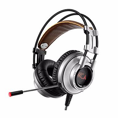 Mikrofon pc oyun ile xiberia k9u 7.1 surround stereo usb oyun kulaklığı lol cf için nefes ışık bandhead oyun kulaklığı açtı