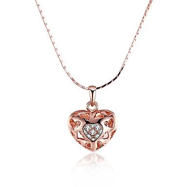 Kadın Kalp Kişiselleştirilmiş Wzór geometryczny Eşsiz Tasarım Sallantılı Stil Vintage Bohem Temel Aşk Kalp Arkadaşlık Euramerican