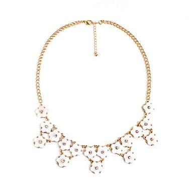 Γυναικεία Σκέλη Κολιέ Κοσμήματα Όστρακο Κράμα Flower Shape Κοσμήματα Μοντέρνα Εξατομικευόμενο Euramerican Ροζ ΚοσμήματαΠάρτι Ειδική