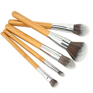 Fırça Setleri Allık Fırçası Far Fırçası Kapatıcı Fırçası Pudra Fırçası Fondöten Fırçası Kontur Fırçası Sentetik Saç Portatif Seyahat