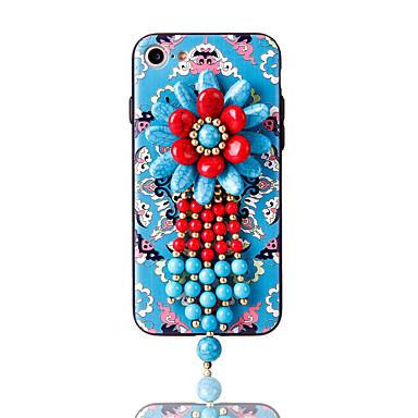 Για Στρας Με σχέδια Φτιάξτο Μόνος Σου tok Πίσω Κάλυμμα tok Λουλούδι Μαλακή TPU για AppleiPhone 7 Plus iPhone 7 iPhone 6s Plus iPhone 6