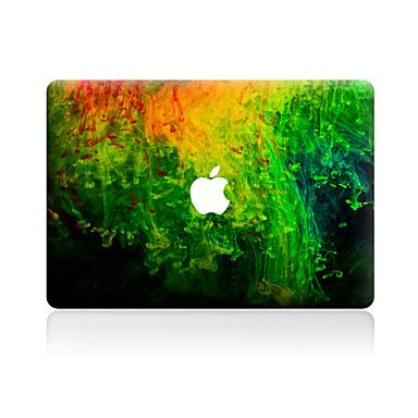 1 parça Deri Etiket için Çizilmeye Dayanıklı 3D Renkli Gradyan Tema PVC MacBook Pro 15'' with Retina MacBook Pro 15'' MacBook Pro 13''