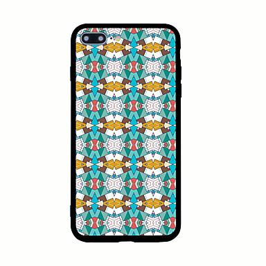 Varten Kuvio Etui Takakuori Etui Geometrinen printti Kova Akryyli varten AppleiPhone 7 Plus iPhone 7 iPhone 6s Plus iPhone 6 Plus iPhone