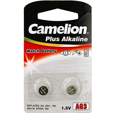 Camelion AG3 baterie alcalină celule buton monedă 1.2v 2 pack