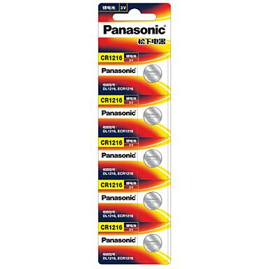 panasonic butonul cr1216 baterie 3v 5 pack