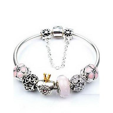 أساور السلسلة والوصلة حب الطبيعة حصى كريستال مجوهرات مجوهرات من أجل عيد ميلاد