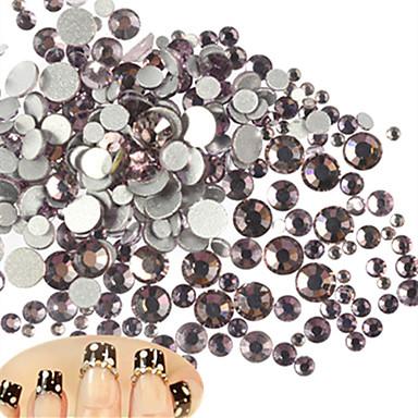 500-600pcs/bag Nail Art Διακόσμηση rhinestone Μαργαριτάρια μακιγιάζ Καλλυντικά Σχεδιασμός νυχιών Τέχνης