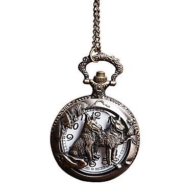 Zegarek kieszonkowy Kwarcowy Stop Pasmo Bronz Bronze